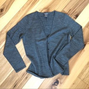 SzMed Ann Taylor Wool Cardigan
